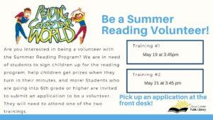 Summer Reading Volunteer